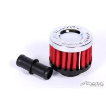 Kartergáz szűrő 15 mm Piros SIMOTA